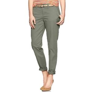 GAP Broken-in Straight Chino Pants - Olive - 00